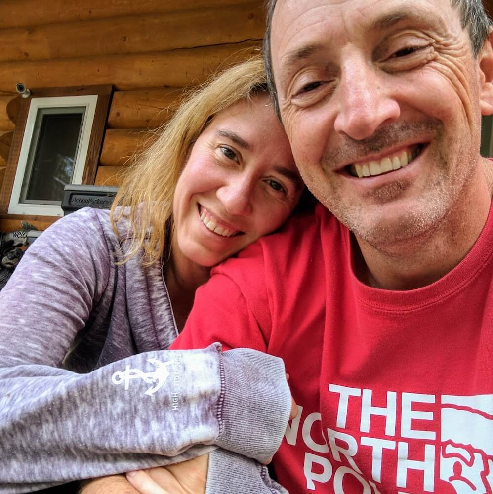 David and Tori Brannan @ their home in Salcha, Alaska 2017