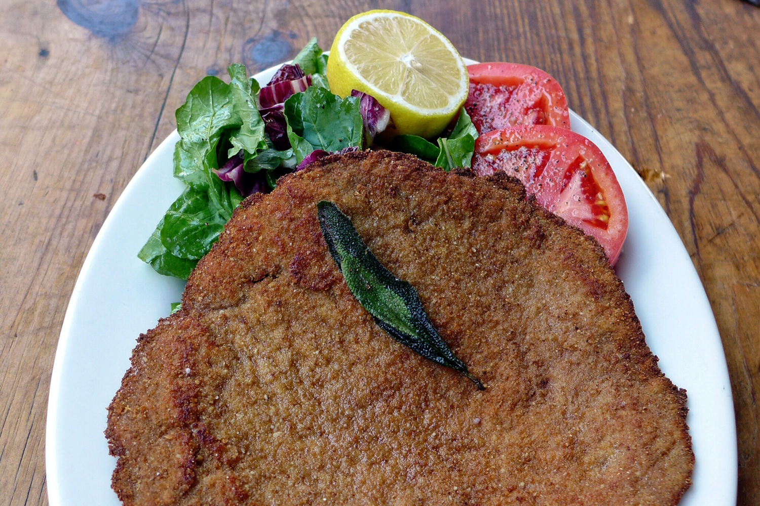 The Classic Veal Milanese