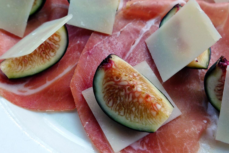 Prosciutto, Figs, Parmigiano