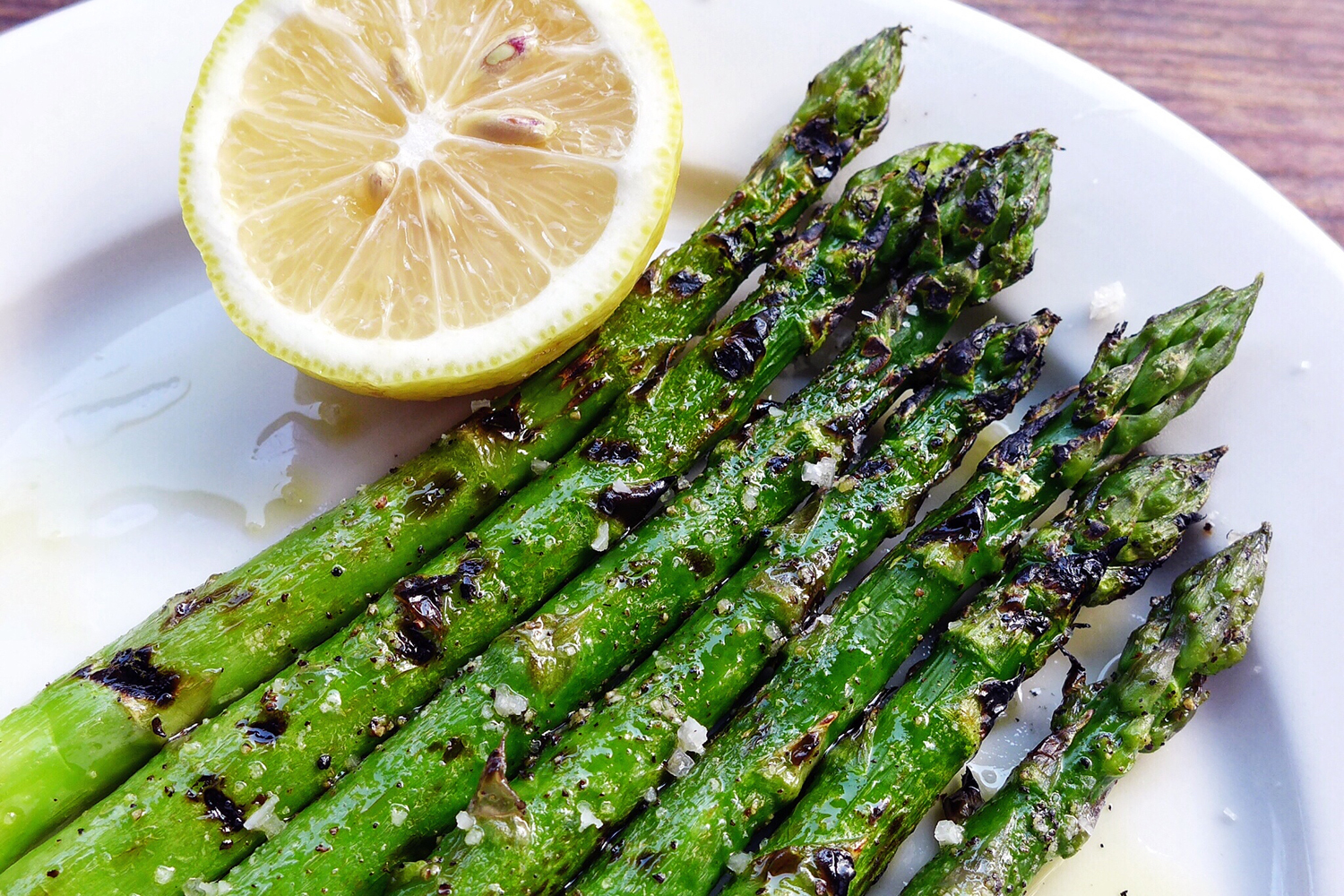 The Grilled Asparagus