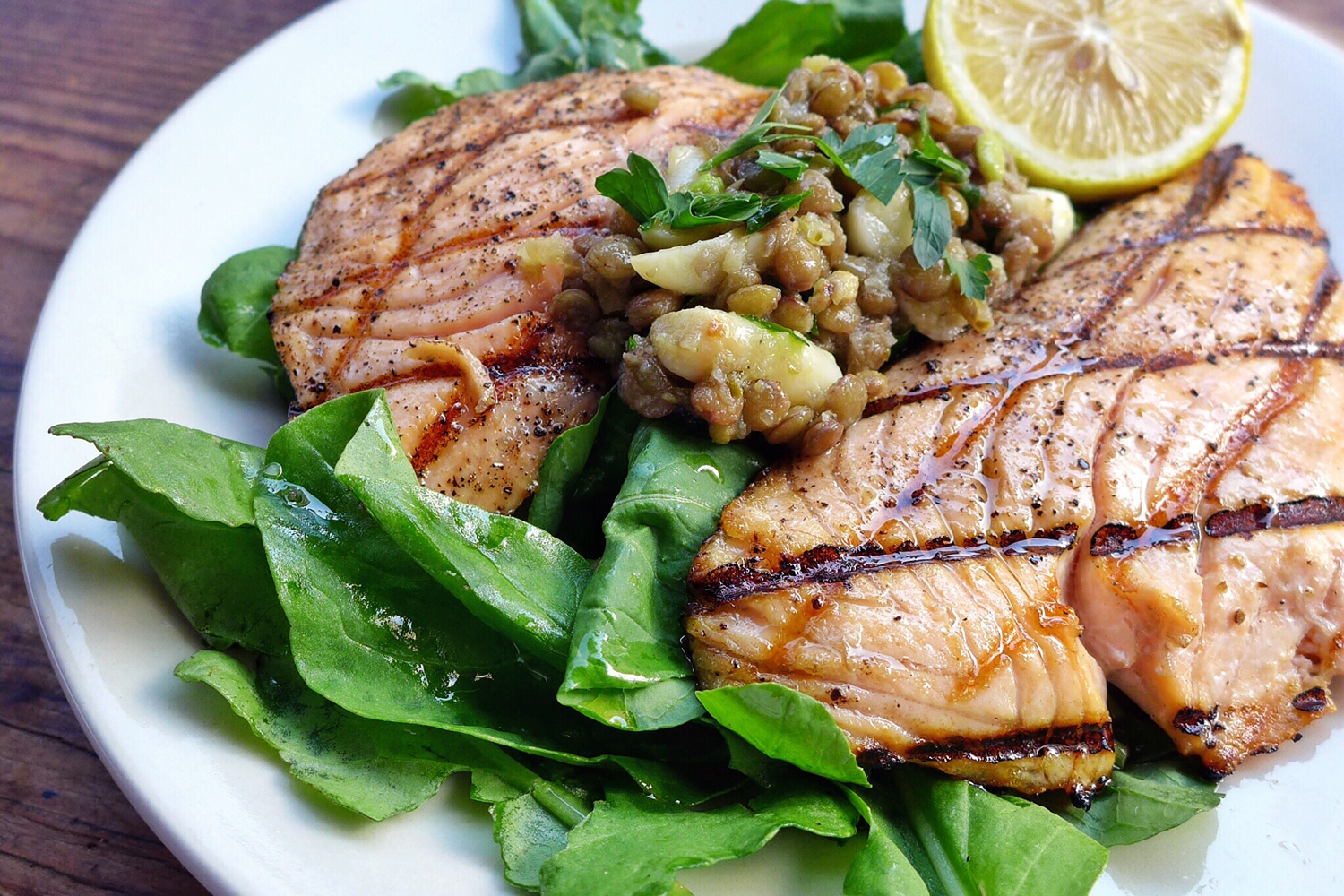 The Grilled Salmon