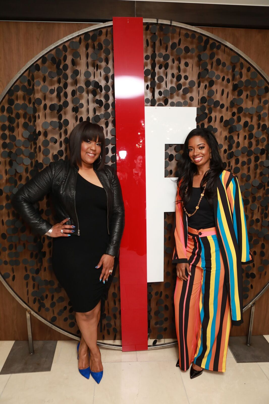 Fearless Magazine Founder Arian Simone &  Aventer Gray , Co- Founder of Building Bridges Foundation
