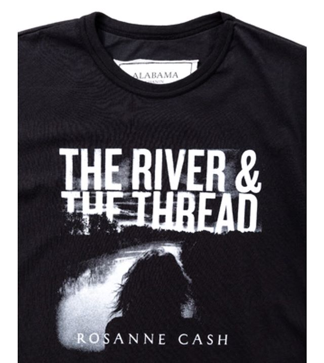 I partnered with @alabamachanin to create a commemorative t-shirt for my album The River and The Thread to benefit the @eji_org, one of the most impressive non-profits to emerge in the last decade. Support equality and justice in the Deep South and get that treasured @alabamachanin label. https://alabamachanin.com/products/rosanne-cash-t-shirt?taxon_id=163