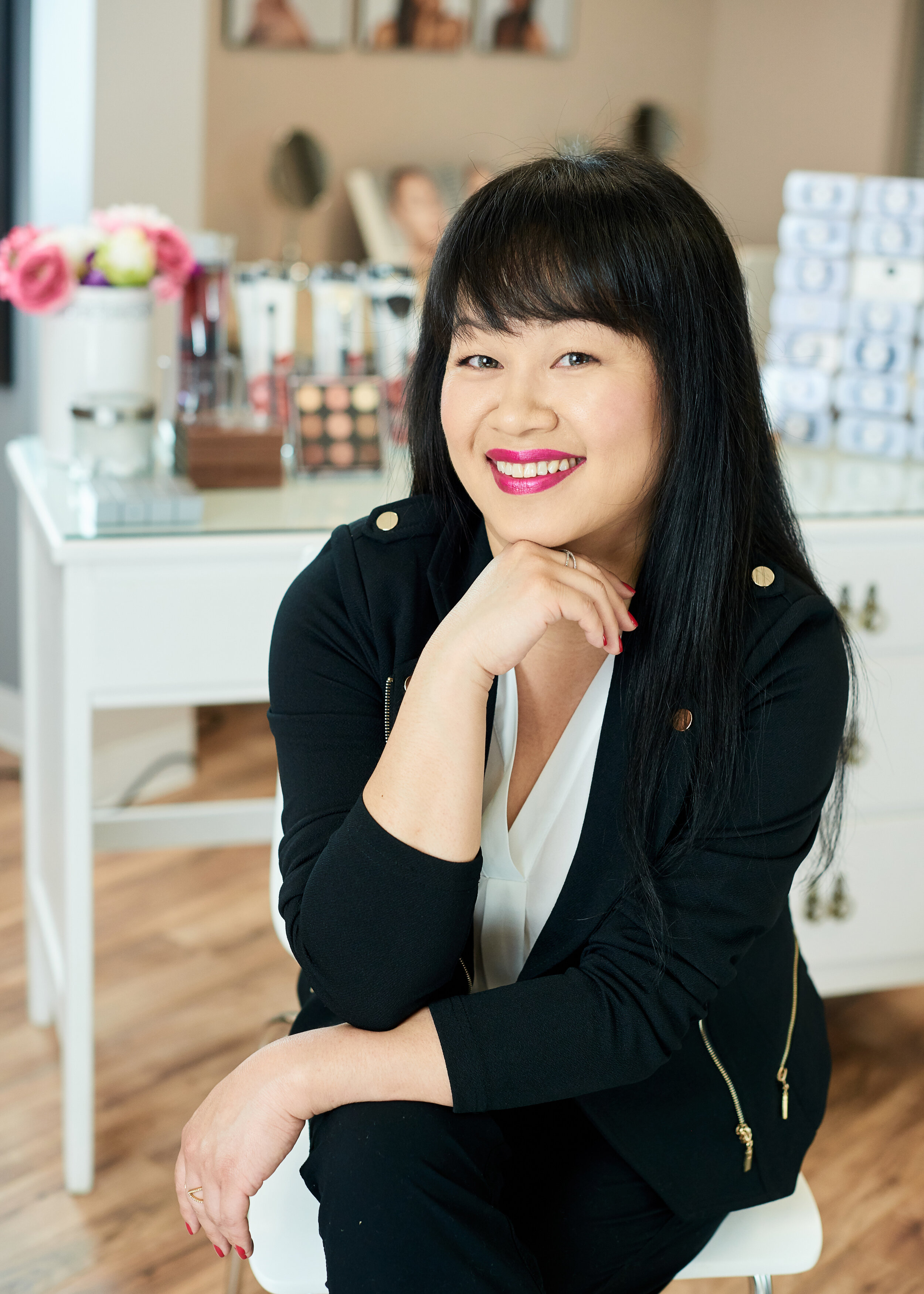 Vanexa - OWNER/MAKEUP ARTIST/ESTHETICIAN Owner of V Beauty House, Vanexa, is a passionate, trusted and highly sought Central Wisconsin Professional Makeup Artist. She has earned her reputation for her clean, precise & eye for detailed work. Vanexa is loved by brides, photographers, creative directors, and countless amounts of clients for her well-rounded skills. From the versatile styles of makeup ranging from bridal, print and film/tv mediums, Vanexa does it all; never leaving a client unsatisfied.Vanexa is a Wisconsin State licensed esthetician (Skin Care Specialist) graduated with high honors at the State College of Beauty Culture and immediately pursued the world of makeup artistry. She quickly learned the ins and out of the makeup world. Having worked on all skin type and skin tone from both men and women in her chair, Vanexa had come to the realization that great makeup & skin care service didn't have to be a luxury.Personalized beauty service should be available and accessible to anyone with the desire to look and feel great. The experience made her realize that she wanted to create a skincare & makeup studio where the experience with a professional is unlike any other, as well as high quality makeup and skin care line that would meet the her standards and the needs of her clients. That dream came true with the opening of her studio in Schofield, next to Wausau, WI.Vanexa has worked with: CNBC, Aspirus, Evergreen Pictures, Fox News And Friends, Chanel 7 WOAW, Mercury, Mata Trader, Bags Borrow Steal, Eastbay, Footlocker, Security Health Plan & Framesi Professional Hair.