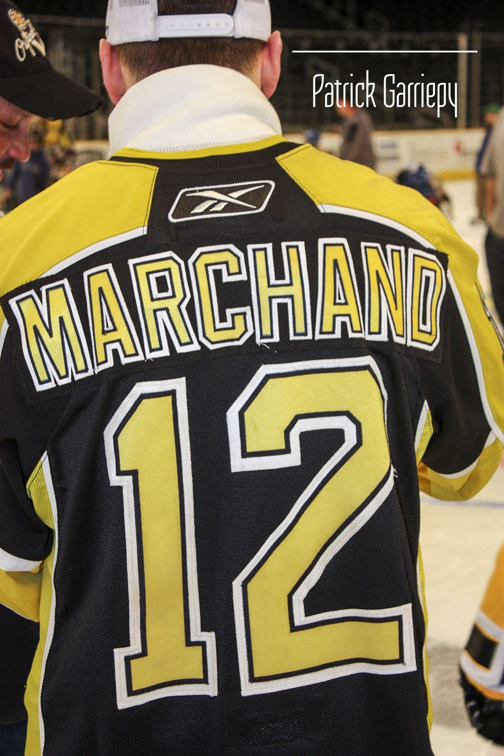Brad Marchand in 2008