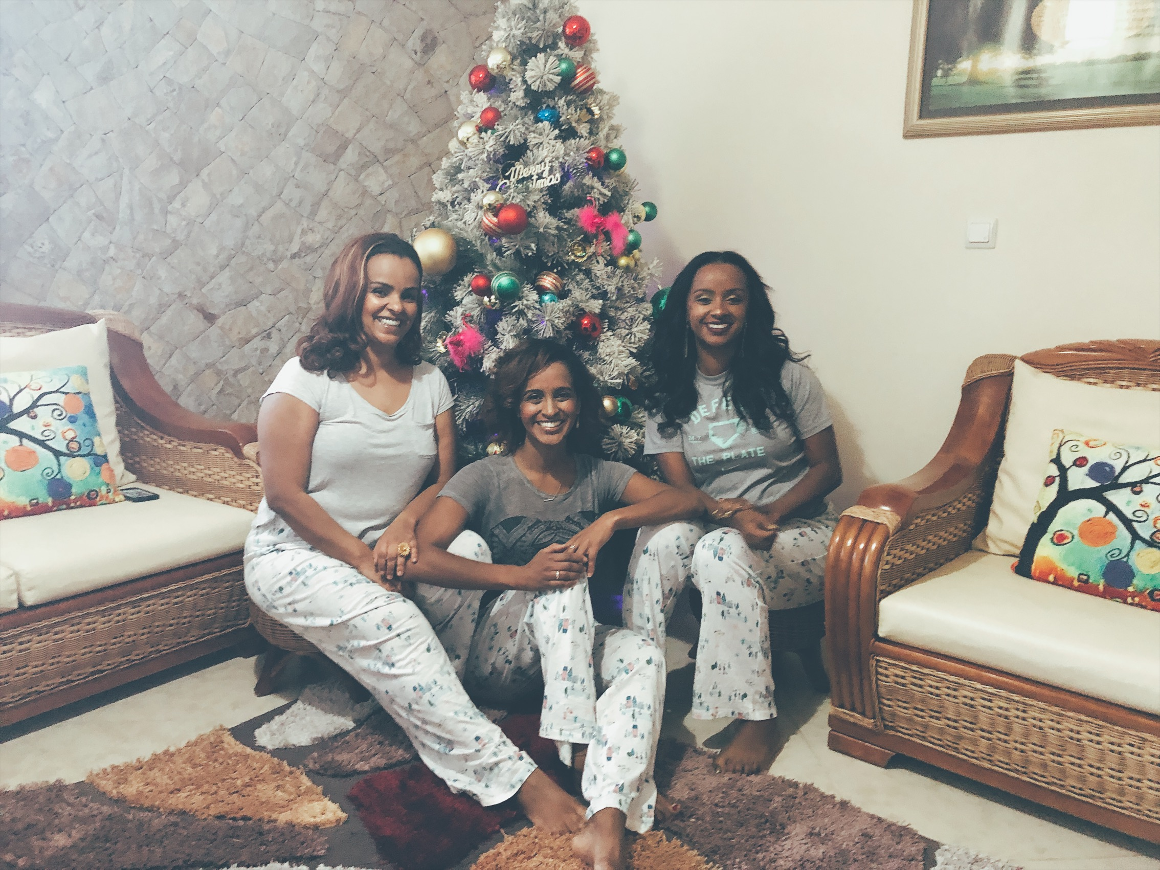 Christmas morning in Ethiopia with sisters
