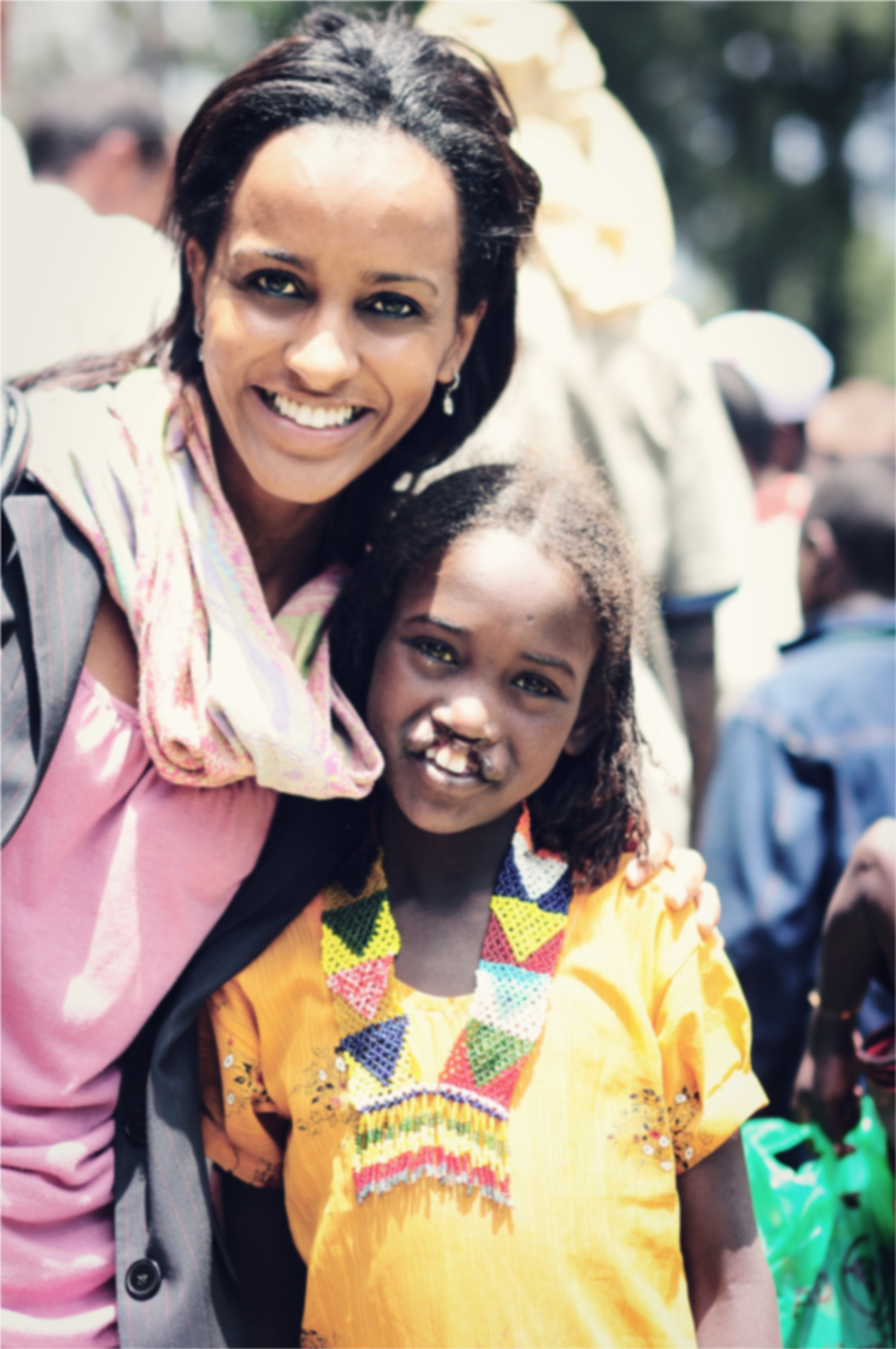 """8.Addis: This was my first mission in Addis. I was a newly graduated nurse and was invited by a friend to help as a translator for the volunteers. I wasn't doing anything, so I said, """"OK,"""" and the rest is history. -"""