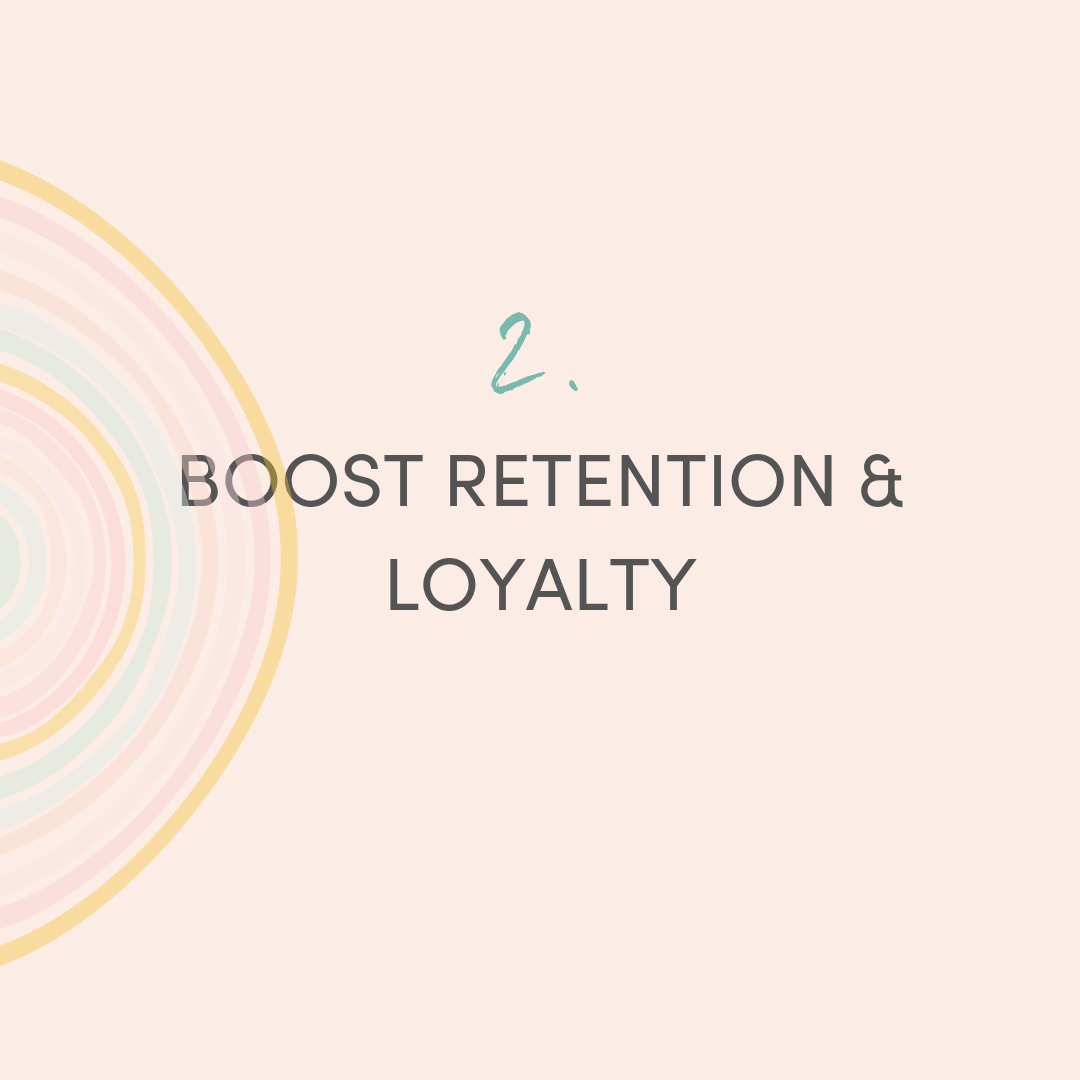 On average, your organization will spend the equivalent of six to nine months of an employee's salary to find and train their replacement. Create an organization that employees will remain loyal to.