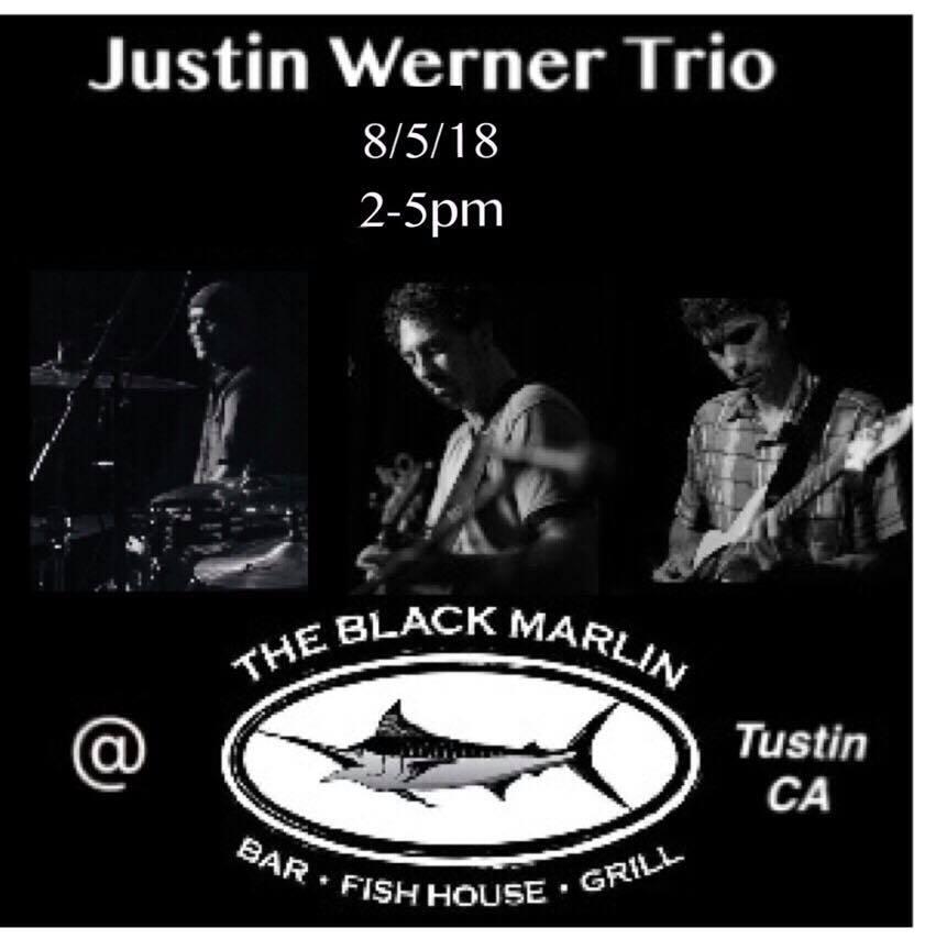Justin Werner at the Black Marlin