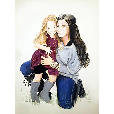 Arizona Mother and Daughter