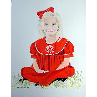 Addison's Red Dress