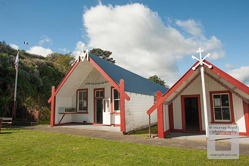 Pukekaraka Marae in Otaki, New Zealand.