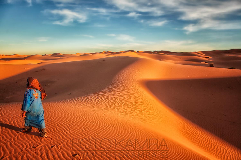 Lonely Berber   2013, Morocco, 100 x 70 cm