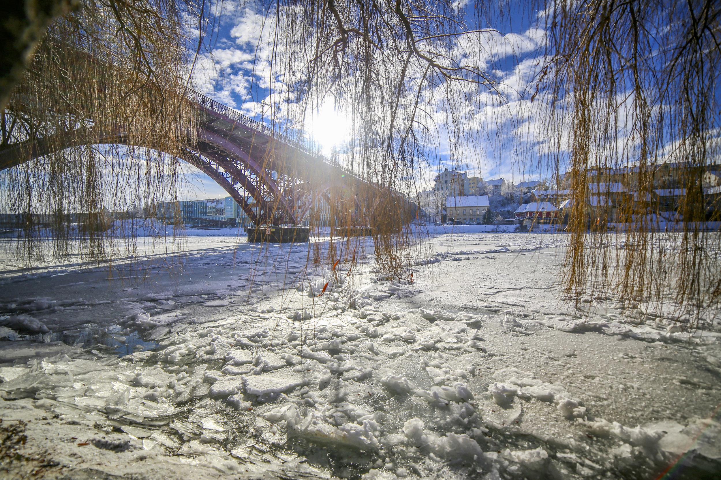 Led na Dravi ; januar 2017; Canon 5D; Samyang 24mm