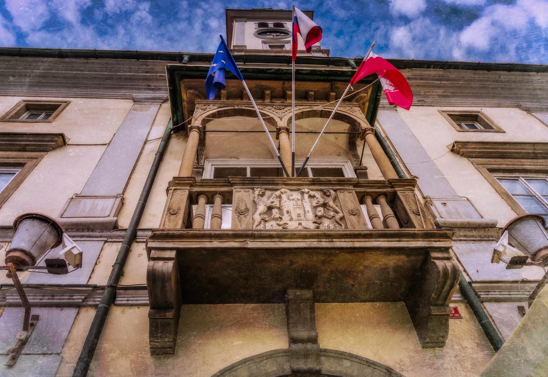 Balkon na Rotovžu