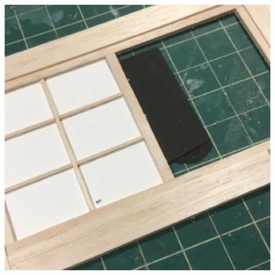 window frame...