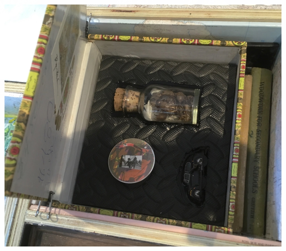 Contents of the cigar box.