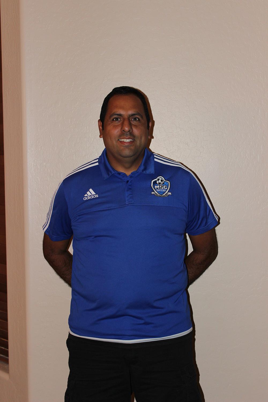 Vince Gallegos - 07 Boys CoachContact MSC United