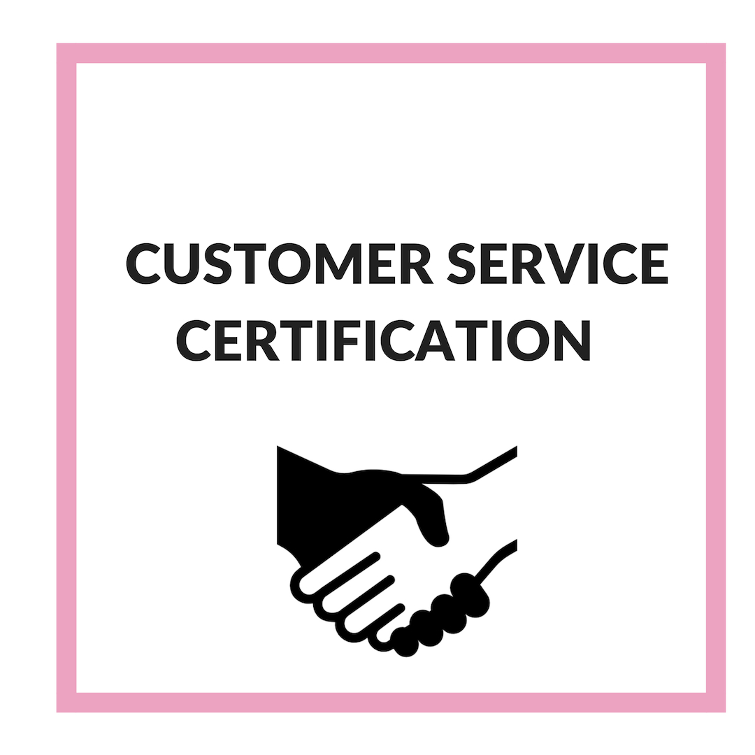 As one of the rudiments of every successful business, our Customer Service Certification program is designed to equip boss ladies with best business practices and effective customer management techniques.