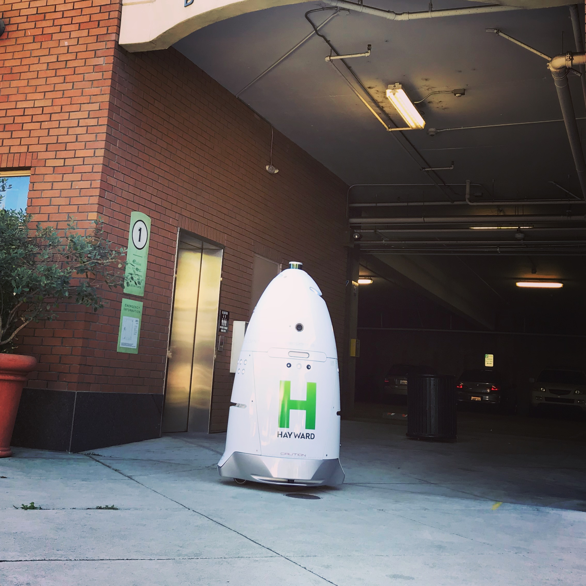 Knightscope K5 Security Robot at City of Hayward