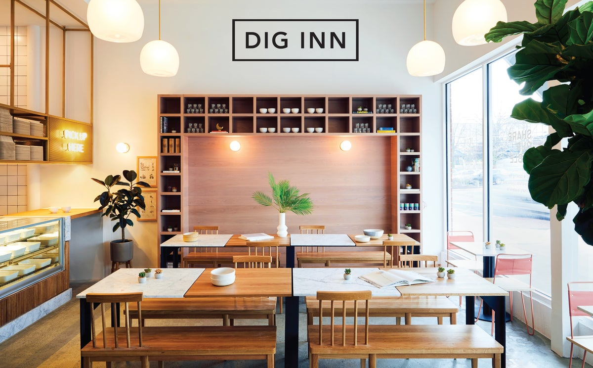 Dig Inn - See here for locations