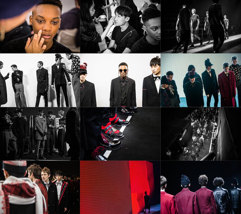 June 2016  Backstage for Dior