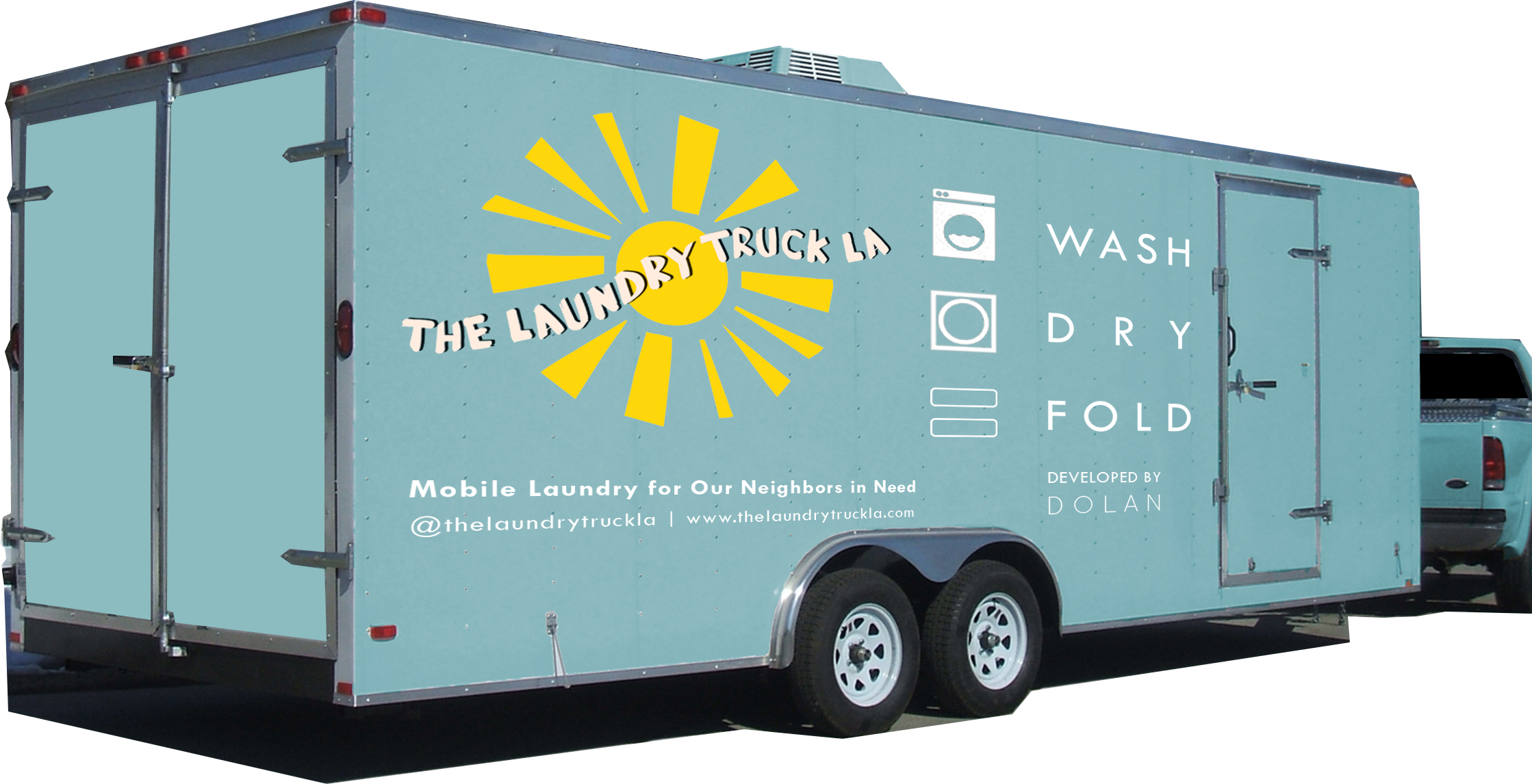"""""""Clorox Backs Homeless Effort"""" - Los Angeles Business Journal covers The Laundry Truck LA's $30,000 sponsorship by Clorox Co."""