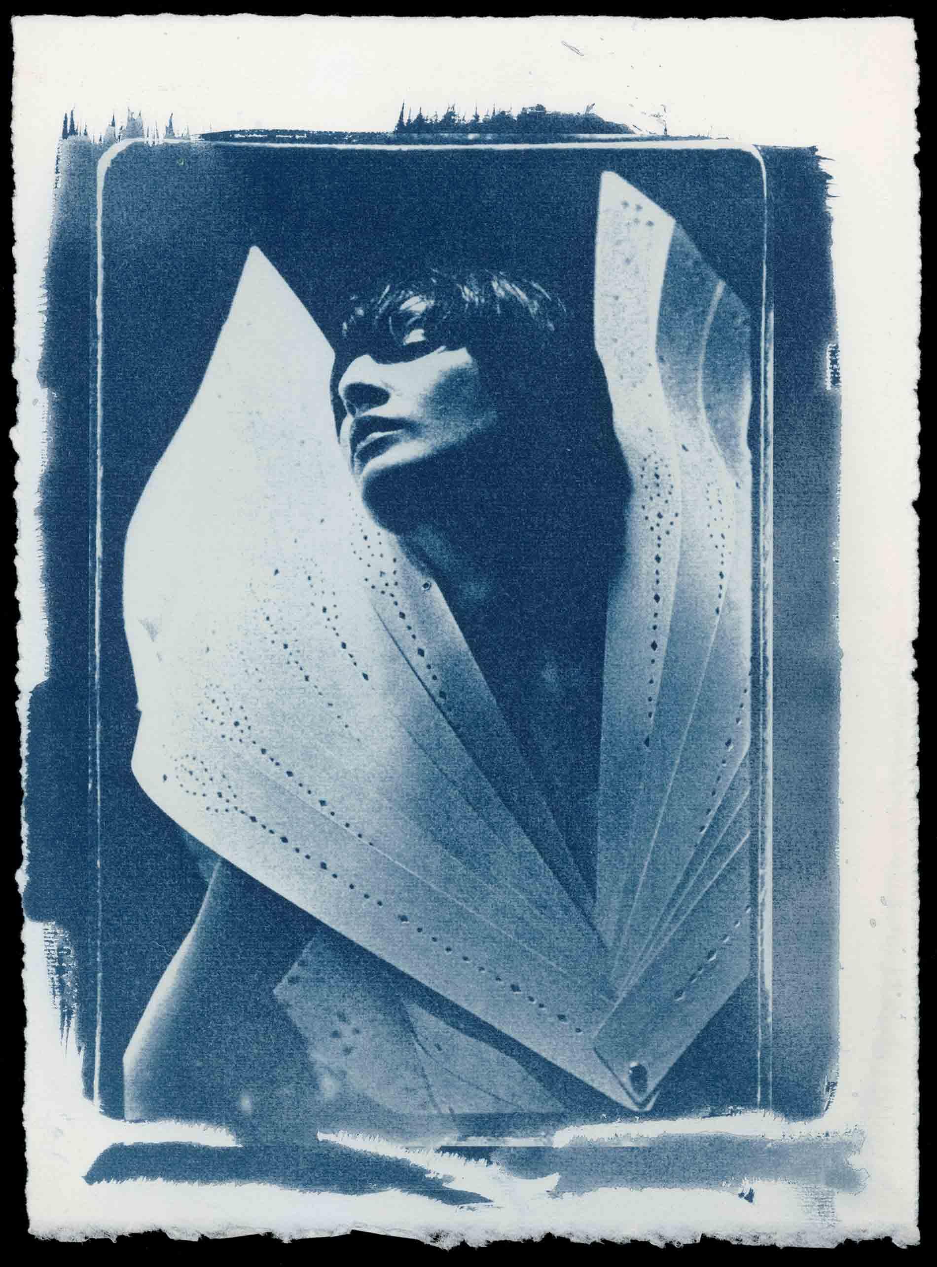 安·雷,《如天使般的艾琳》,伦敦,1998年。图片由艺术家提供。
