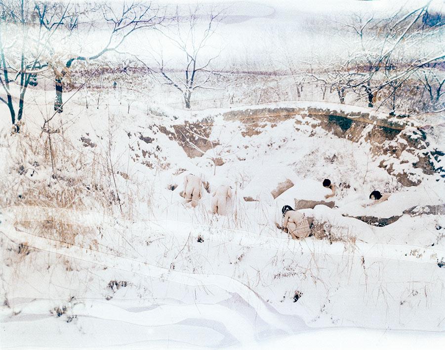甘莹莹,《躯》,2018年。图片由艺术家提供。