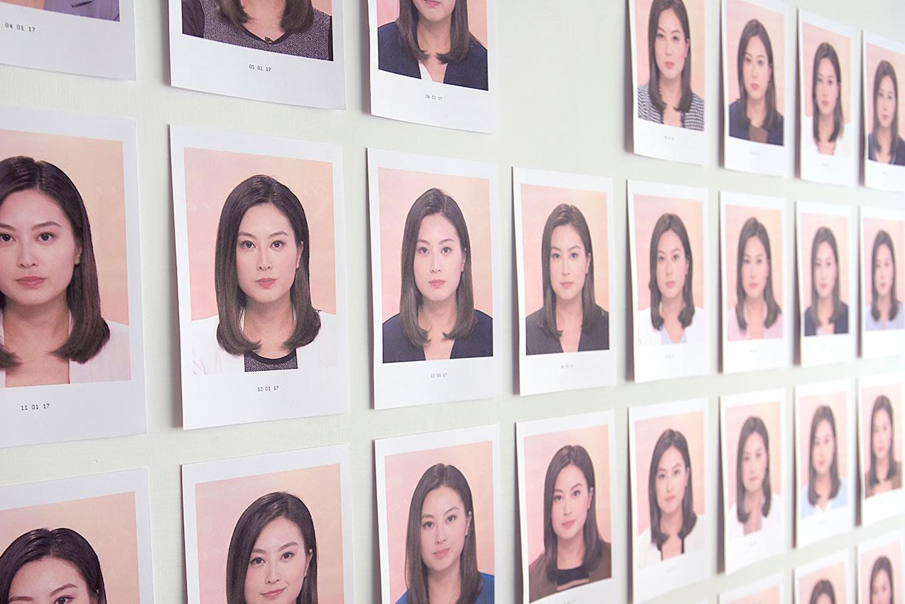 黄永生,《近況》 ,选自《刺眼的黑色》系列,2017年。  无酸纸艺术微啧,尺寸可变  图片由艺术家提供。