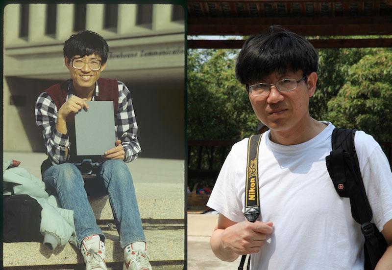 曾璜  1987年和2014年