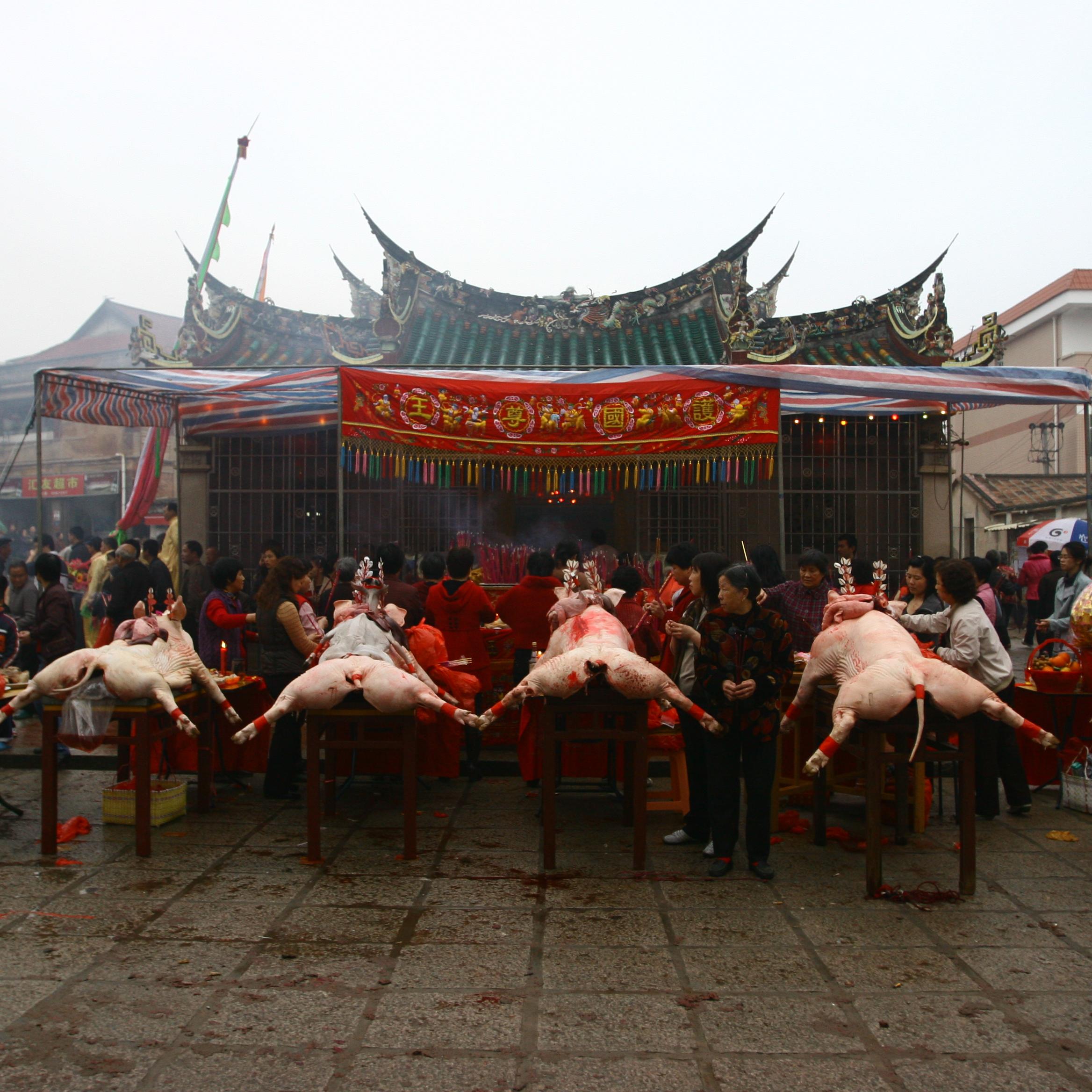 颜志伟,《大社元宵节》, 2010 年 2月。 图片由艺术家提供。