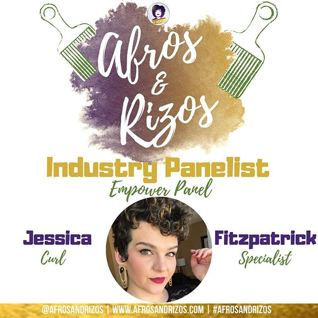 We are honored to have @beyond_texture be a part of our Industry Panel! She is a DevaChan & DevaCurl Certified Curl Specialist and Curl Educator! We are so excited To get schooled on our curls 🙆🏽‍♀️ - TICKET LINK IN BIO July 20th 💜💛 - We #afrosandrizos