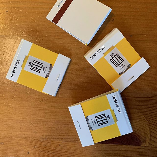 Smoke em if you got em! #abeerforalltime #matchbook #weouthere
