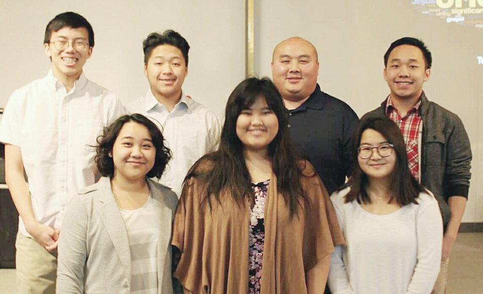 ALLIANCE YOUTH BOARD 2018: Front Row: Isabella Her, Makayla Her, Tili Xiong. Back row: Lukas Her, Hunter Yang, Mr. Nixon Vang and Justin Her.