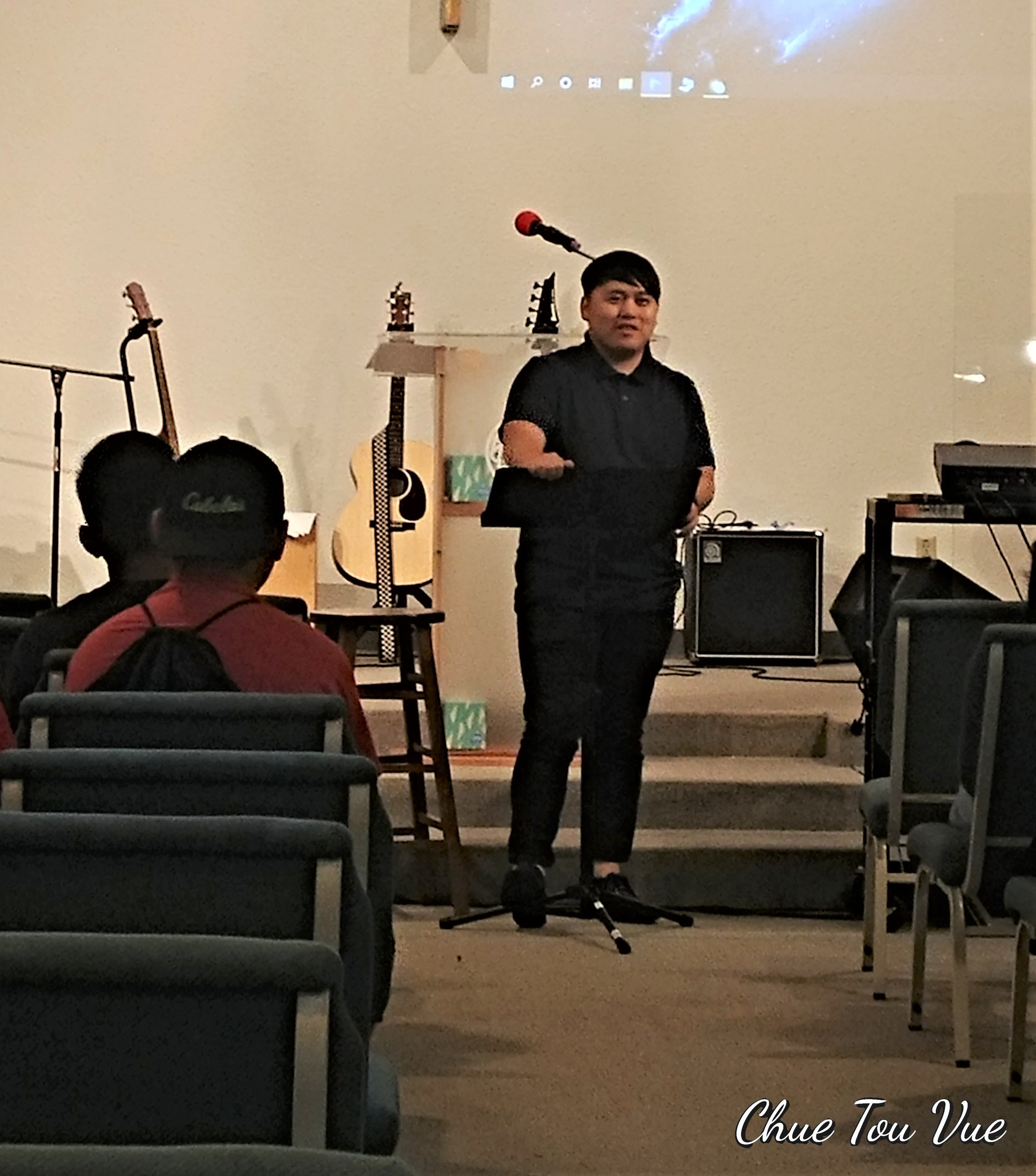 Xh. Isaiah preaching for youth service