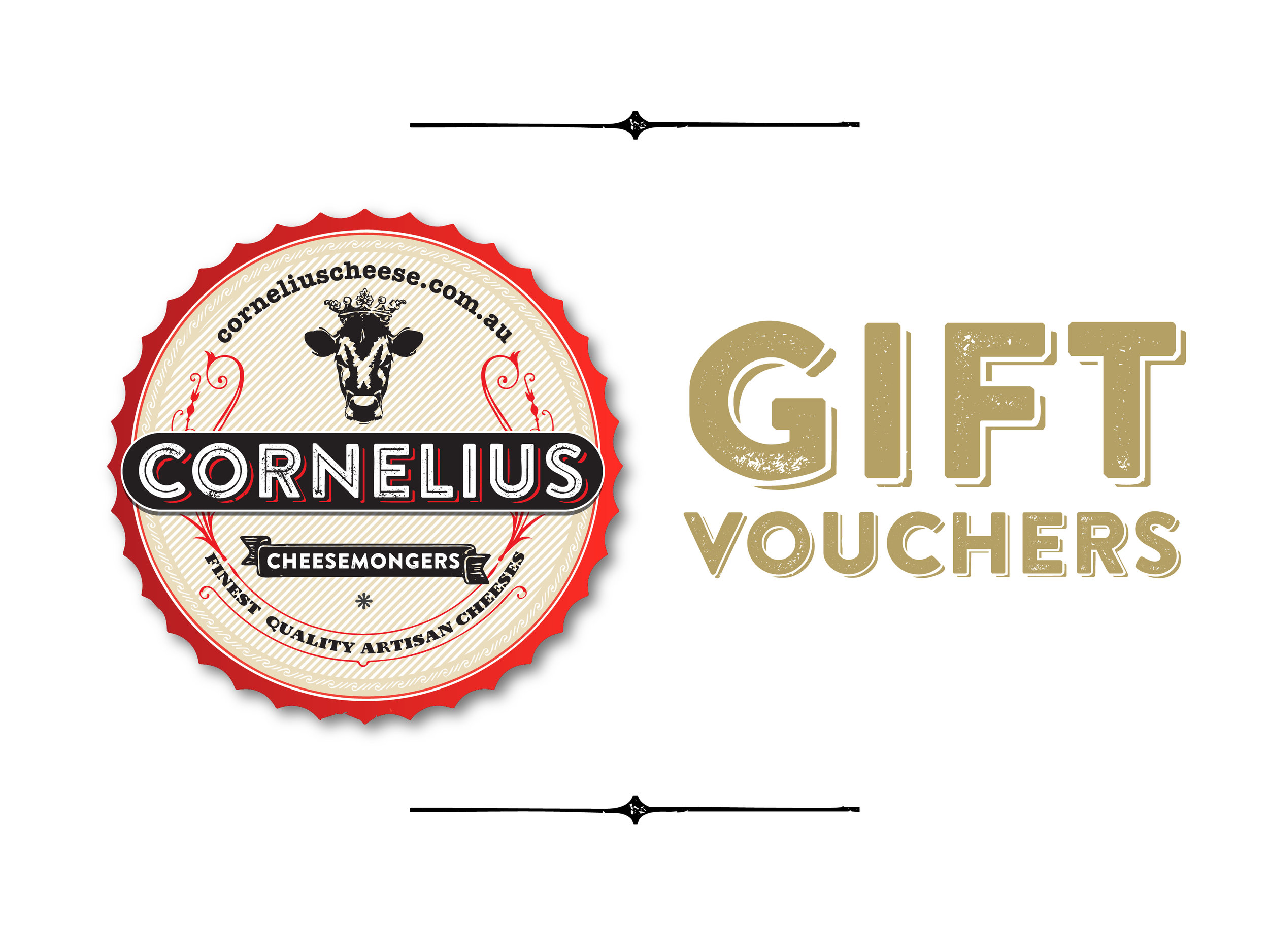 Gift Vouchers - Can't choose? Give a cheesy voucher, which can be used on any product across the website! From $25.