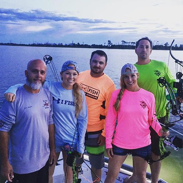 Jessica, Braxton and Crew - Reel Nock Bowfishing