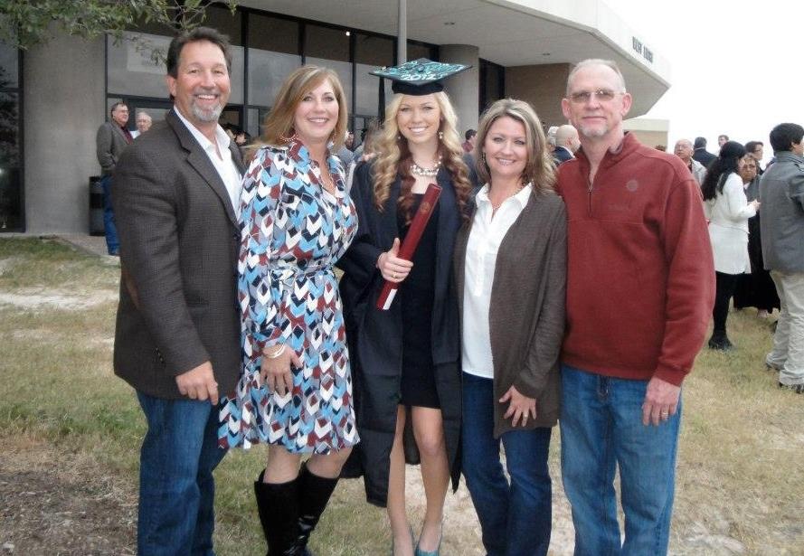 Stepdad Todd & Momma Lisa // Stepmom Carol & my pops, Chuck