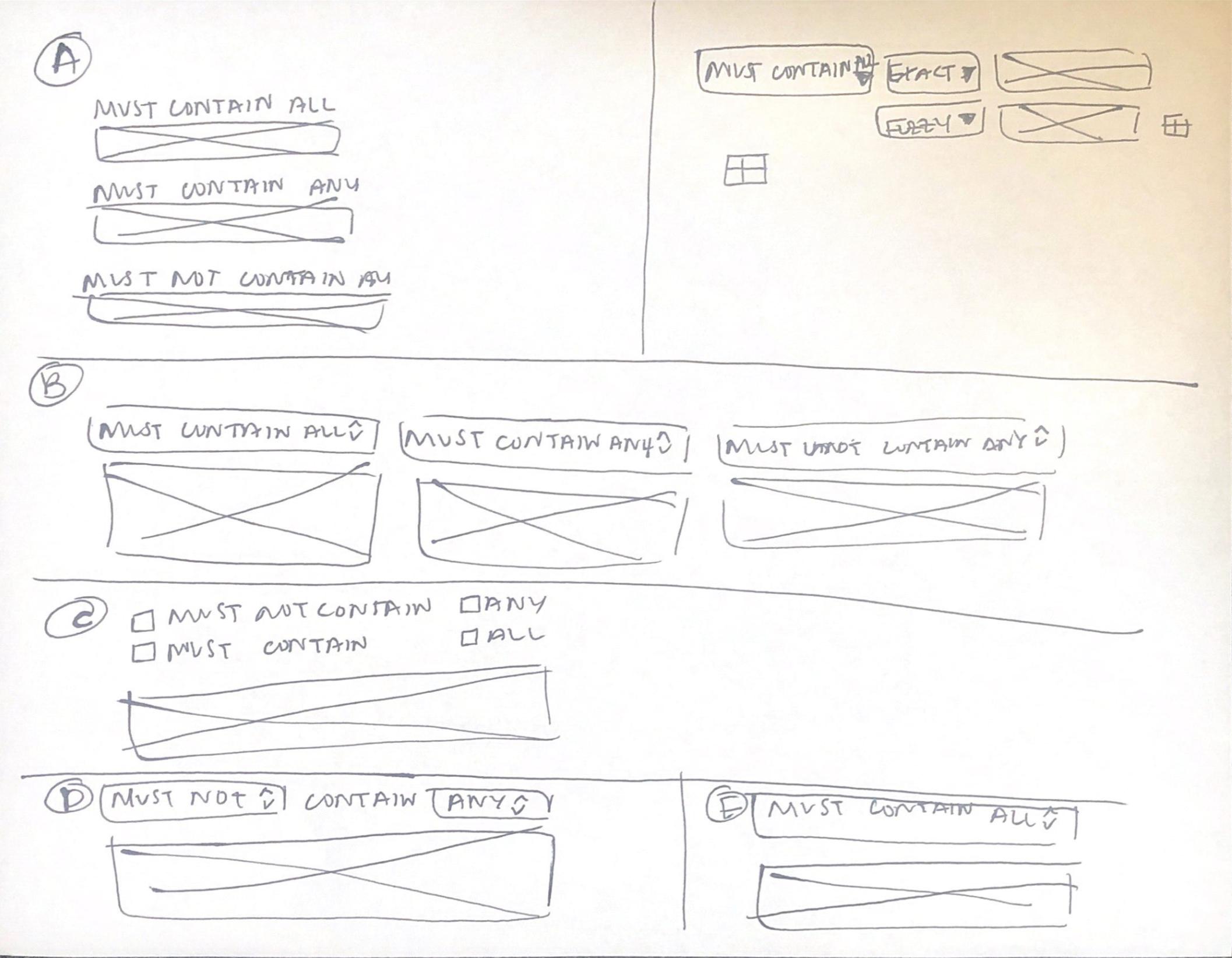 Filter Component Concepts -