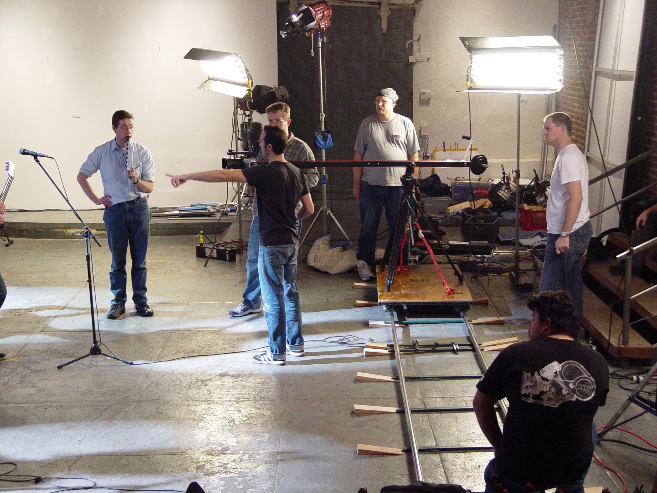 Adrian Ursu - Black Bear Growls - music video set