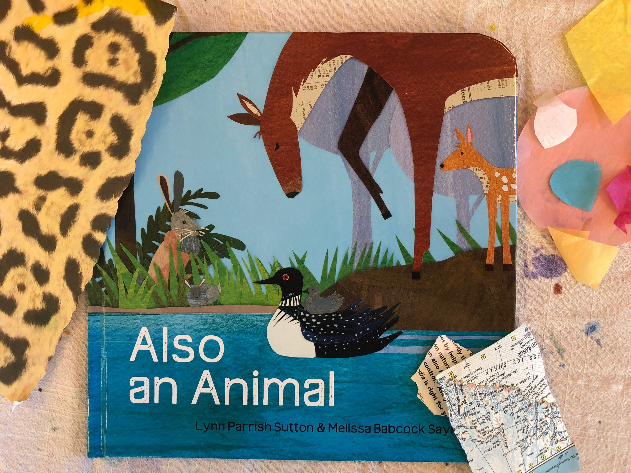 December feature: - Join us to hear this beautiful book read aloud and then be inspired to help your little one create a nature themed paper collage.