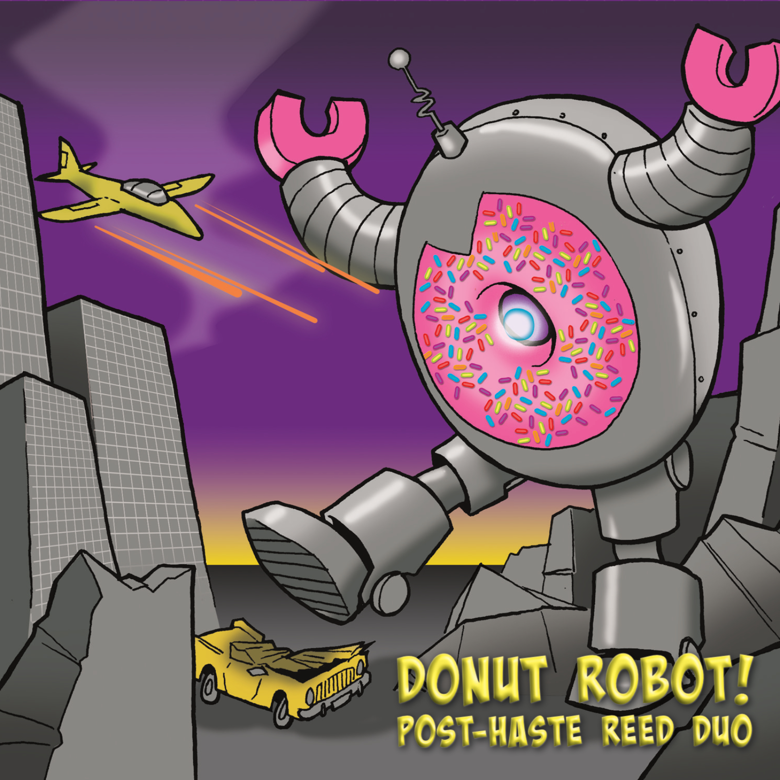 Donut Robot! by Post-Haste Reed Duo