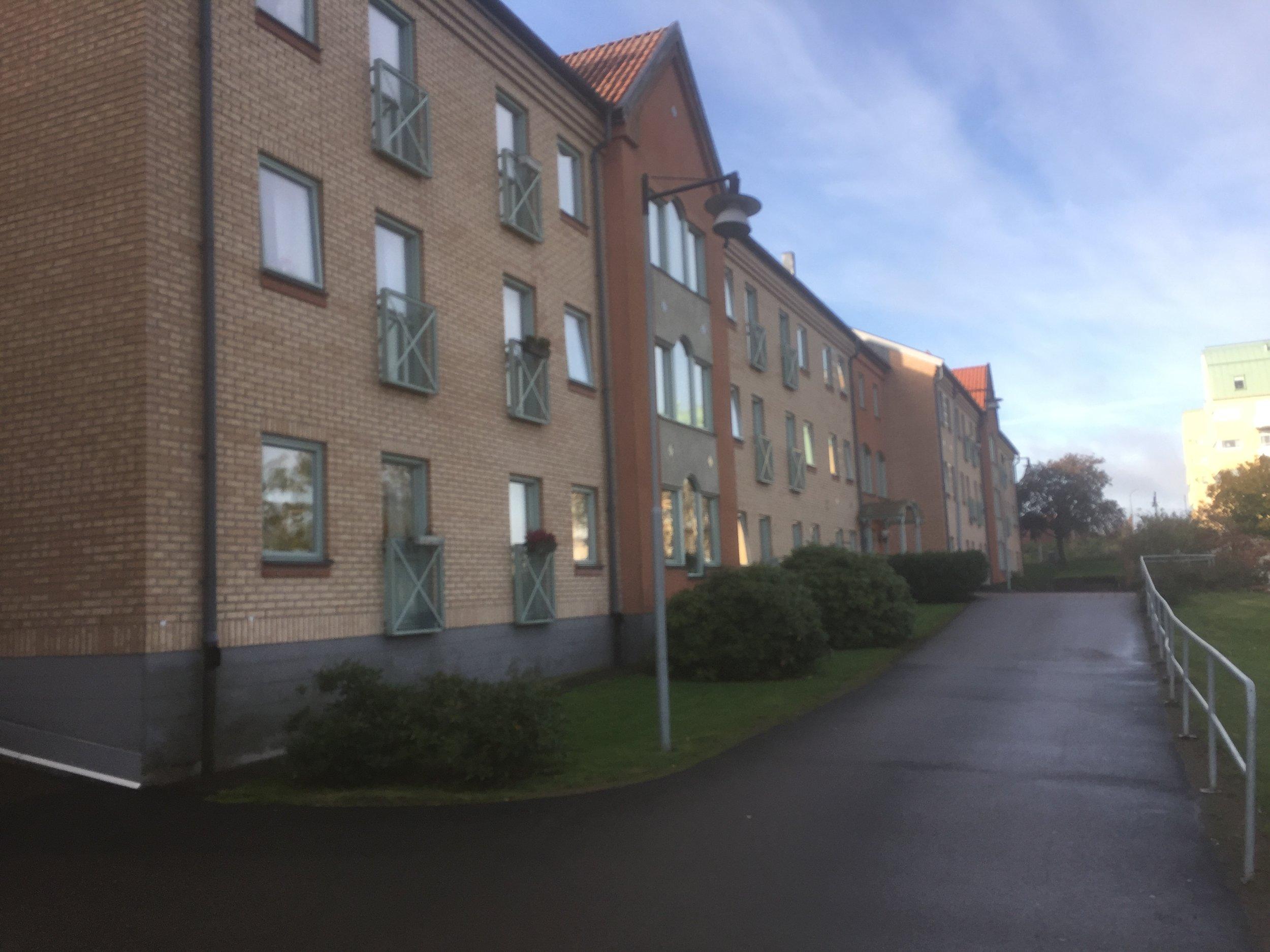 Hus C - vetter mot Tullparken