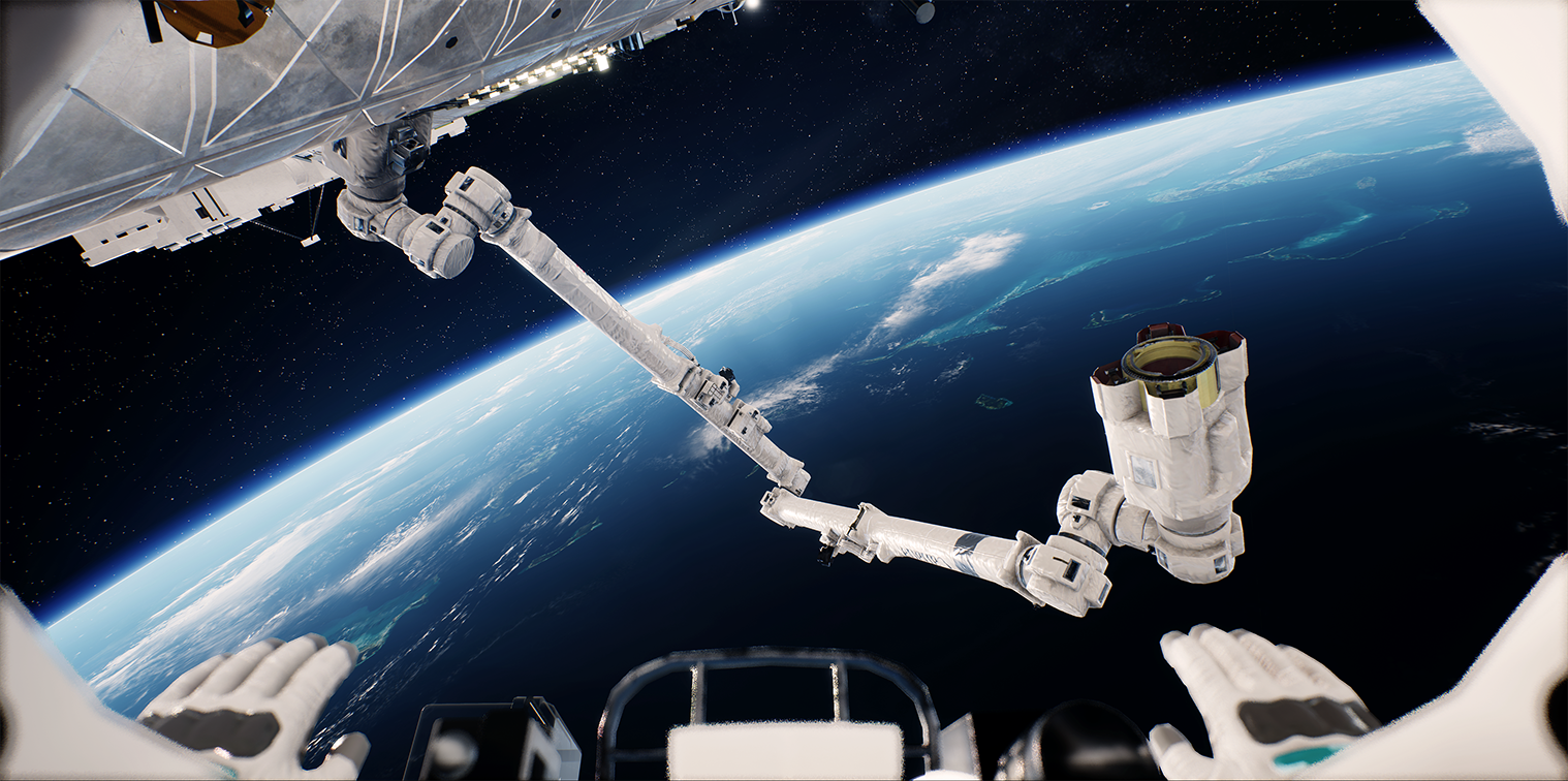 Opaque Space developed a fit-for-purpose Canadarm Model with Rigging support for use by public space agencies.