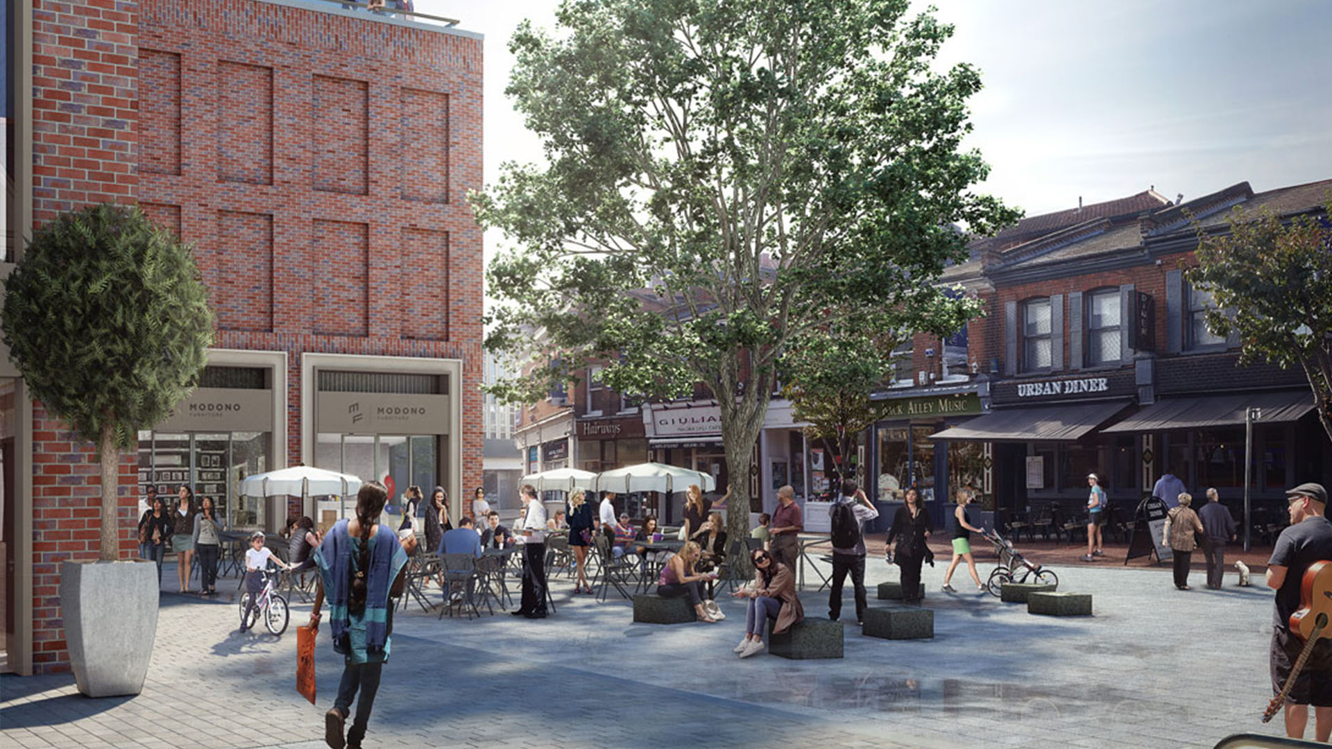Putney High Street - WAF Future Commercial - Shortlisted Finalist 2015Architect - Grid