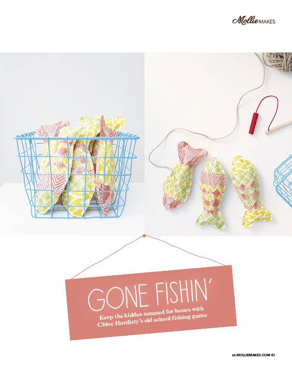 Gone Fishing' Cotton Clara Feature
