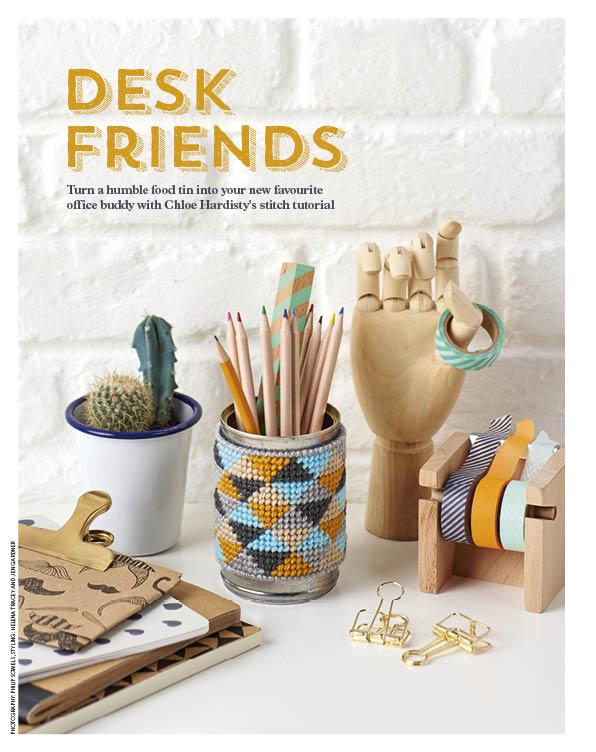 Desk Friends Cotton Clara Feature