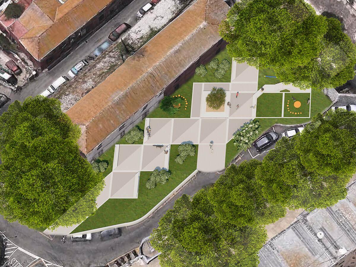 Tarik Passage garden