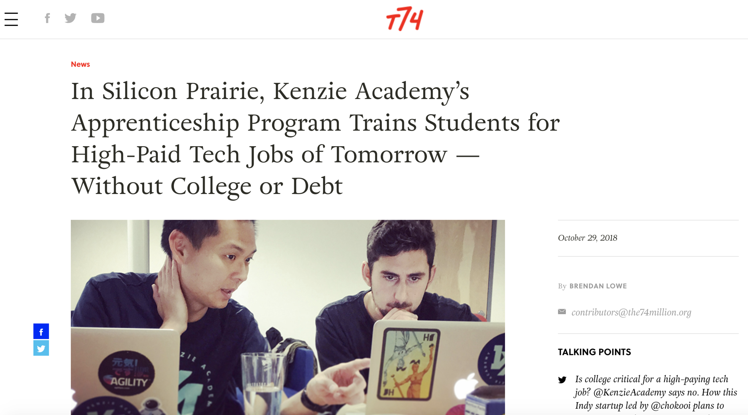 kenzie_74million_article